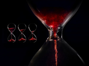 time trickles away